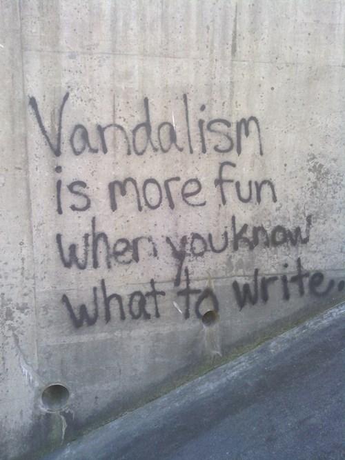 clever graffiti hacked irl vandalism - 8233280512