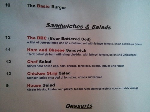 menu puns food - 8233295104