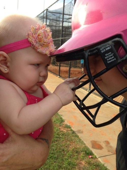 baby expression parenting sports suspicious - 8234082048