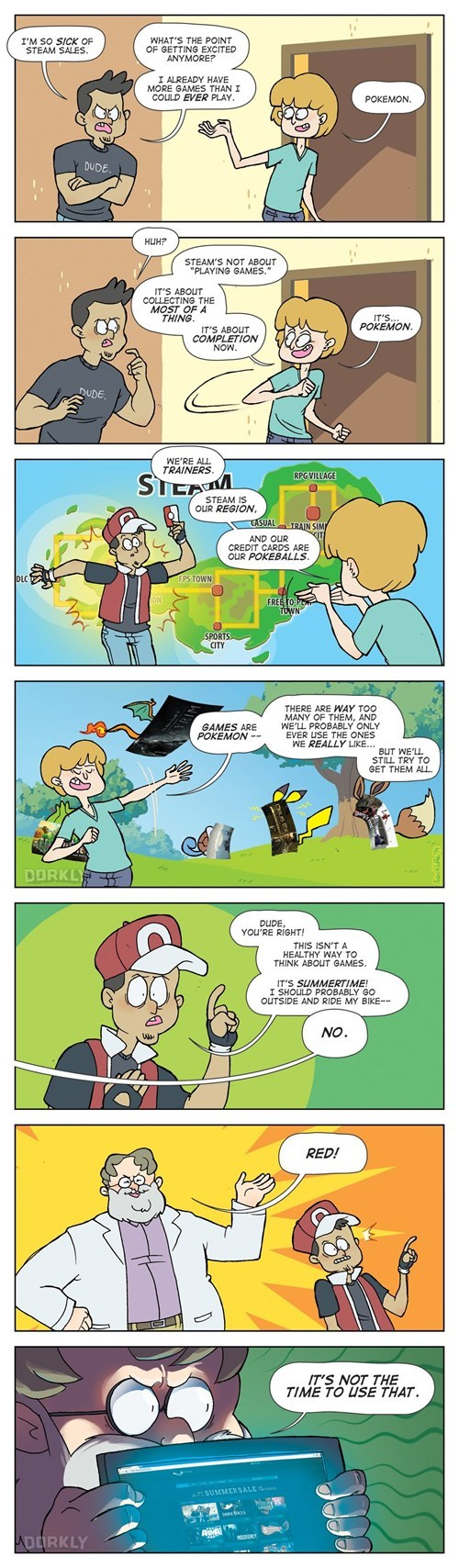 dorkly steam sales steam web comics