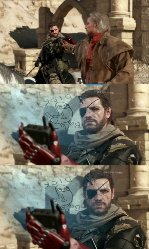 metal gear solid trololololol metal gear solid V - 8234272512