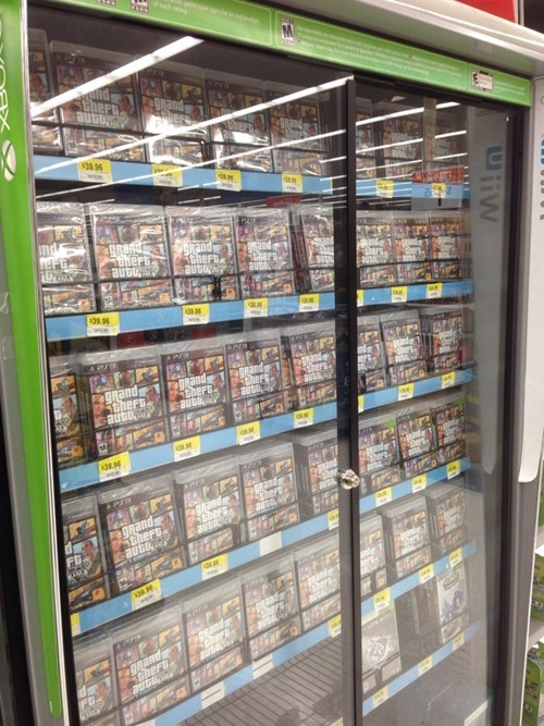 IRL,stores,grand theft auto v,Walmart