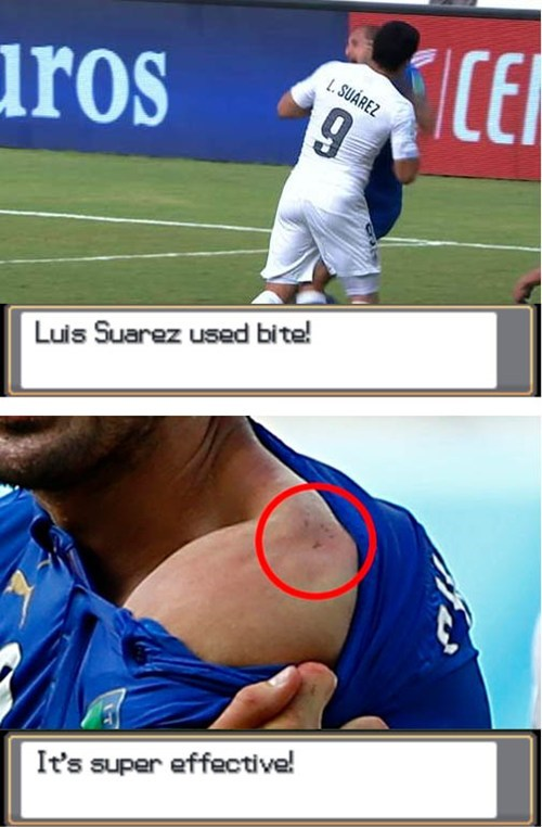 world cup,luis suarez,bite