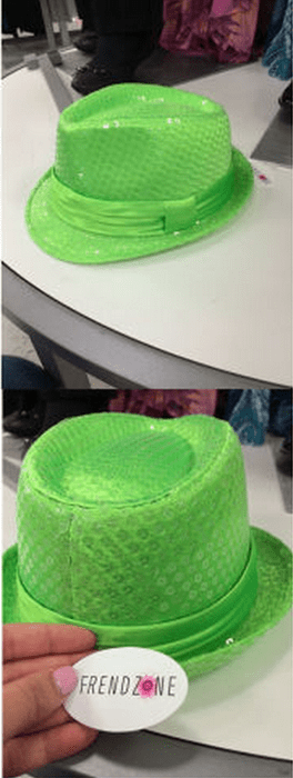 fedora Sequins poorly dressed neon - 8234359296
