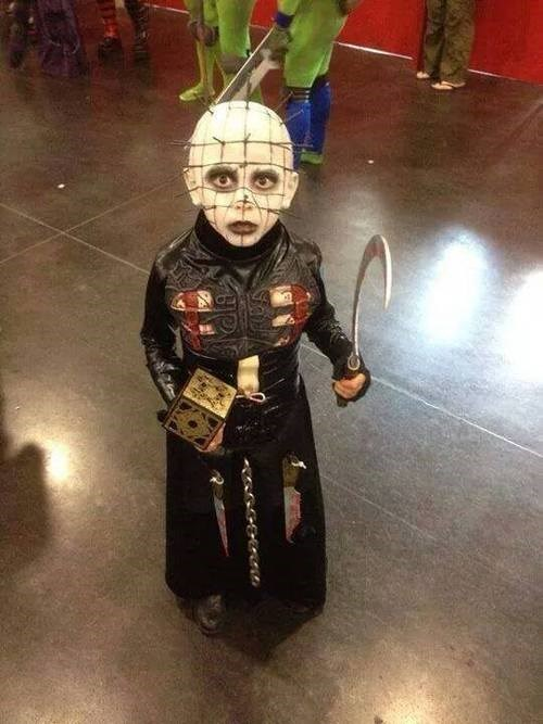 cosplay hellraiser kids Pinhead - 8234371840
