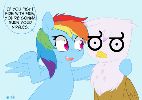 old saying advice rainbow dash