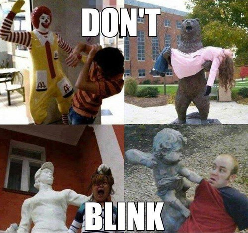 dont-blink,statues,weeping angels