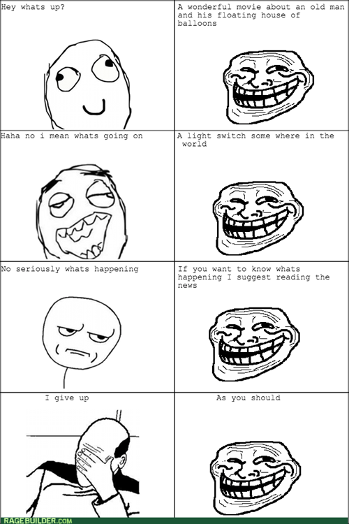 small talk trollface - 8234480128