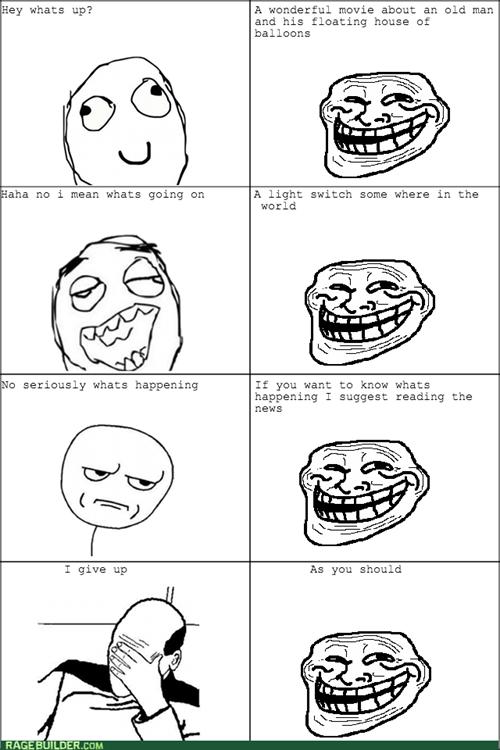 small talk trollface - 8234480128