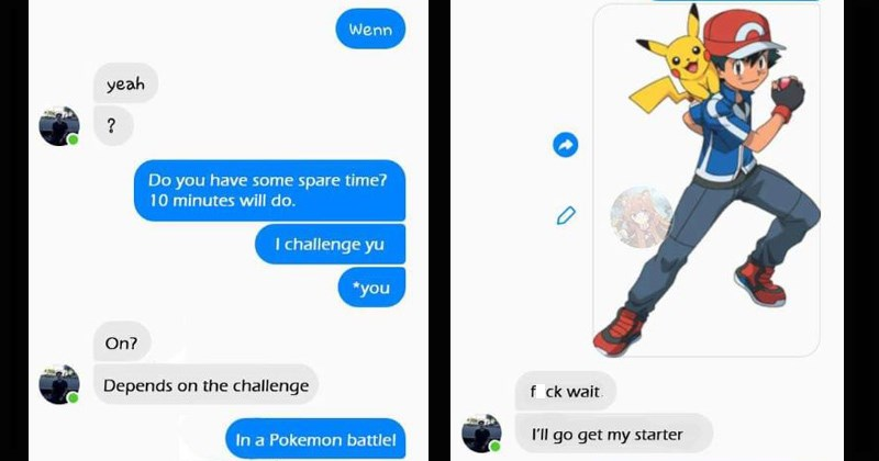 Cringey Pokemon Battle