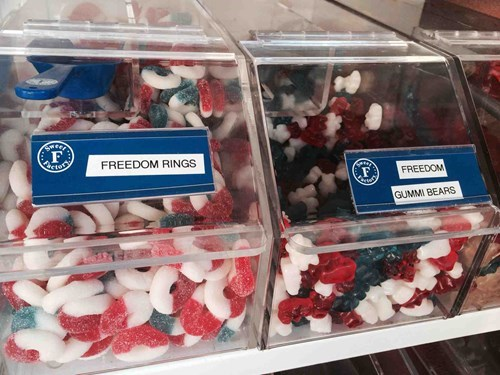 candy,freedom,freedom rings