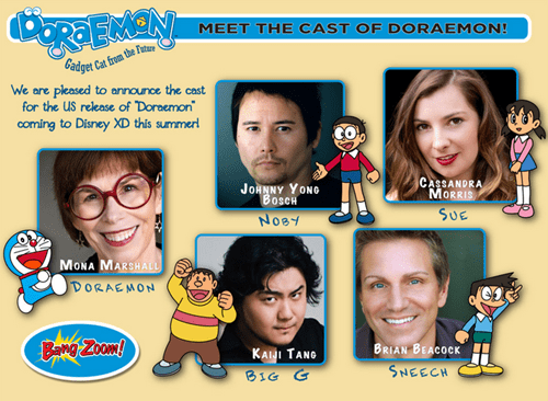 disney doraemon voice actors - 8235189504