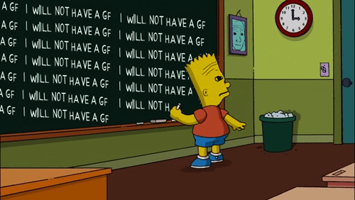 that feel,bart simpson,the simpsons