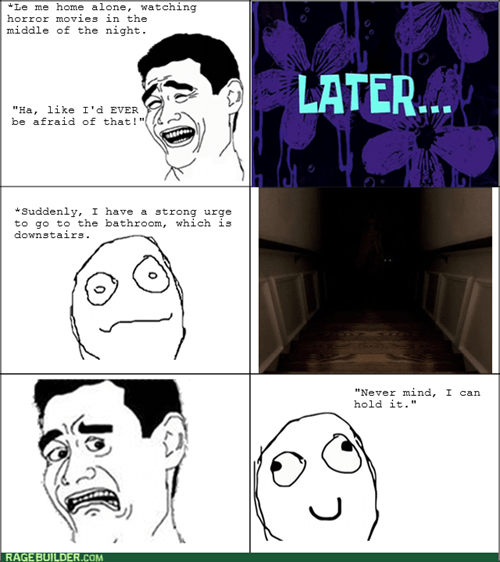 scary movie,bathroom