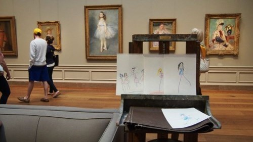 art drawing parenting museum renoir - 8235346944