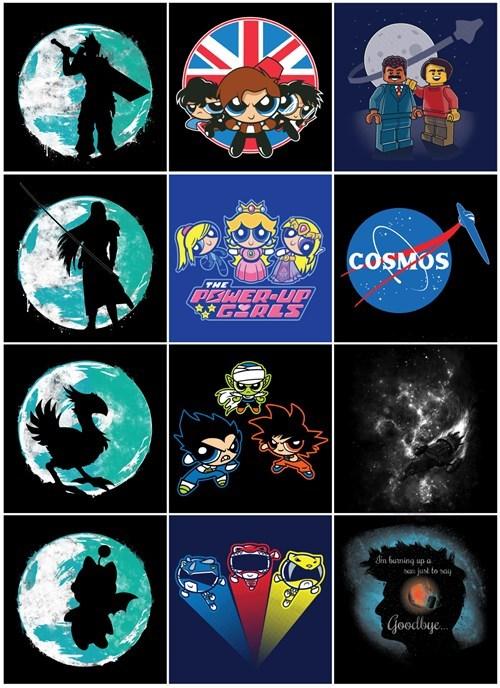 final fantasy powerpuff girls tshirts - 8235438592