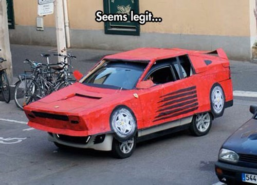 cars,cosplay,seems legit