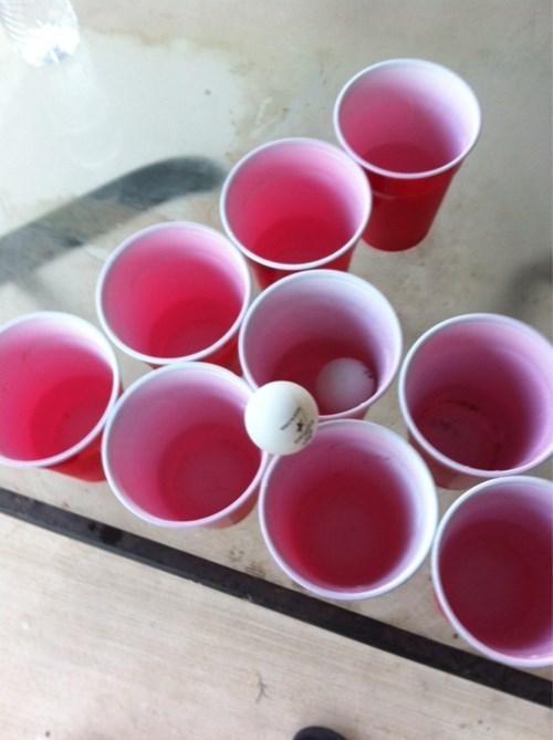 beer pong funny trick shot - 8235520000