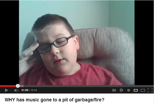 kids these days Music youtube cringe - 8235700736