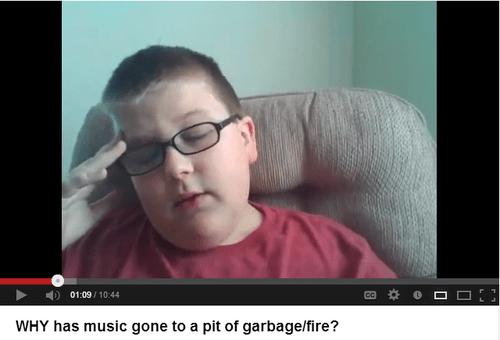 kids these days Music youtube cringe