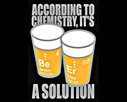 beer Chemistry funny solution - 8235788800