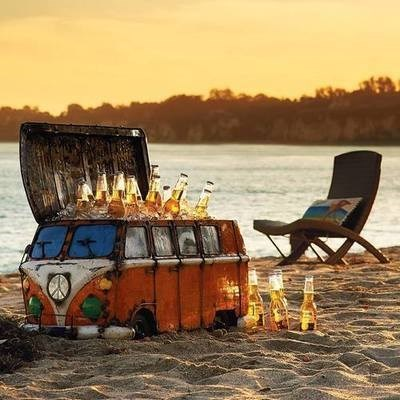 beer,funny,treasure chest,volkswagen