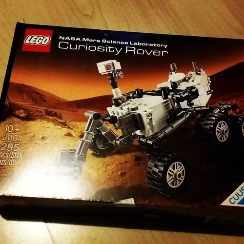 curiosity,lego,funny,rover,science,nasa