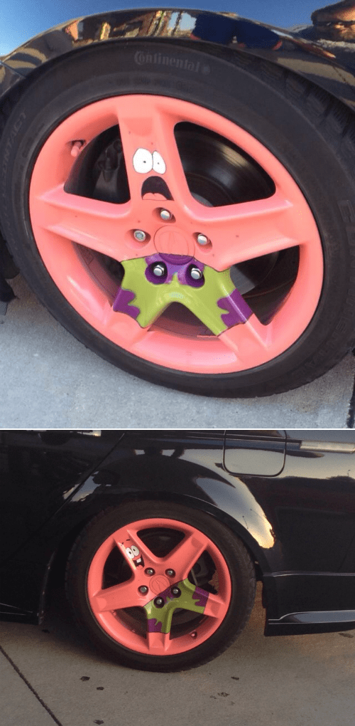 cars cartoons IRL SpongeBob SquarePants patrick star - 8236310272
