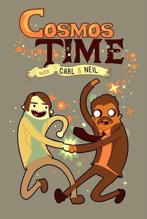 carl sagan cartoons funny Neil deGrasse Tyson - 8236403968