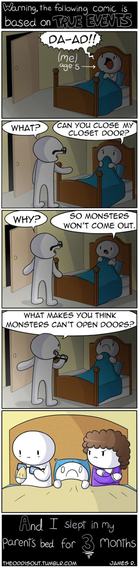 kids monster parenting web comics - 8236413440