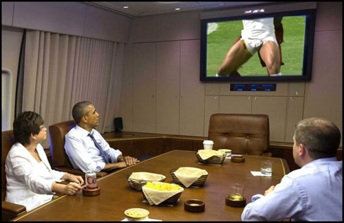 barack obama funny Ghana portugal wtf world cup - 8236485376