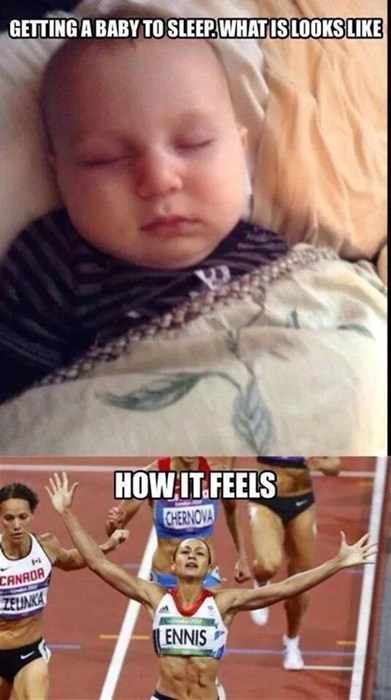 baby race win parenting sleeping g rated - 8236547328