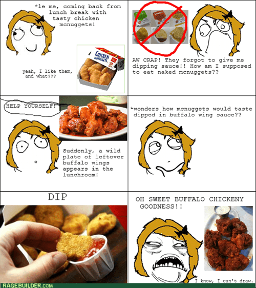 chicken nuggets eating buffalo wings lunch sweet jesus sauce - 8236663296