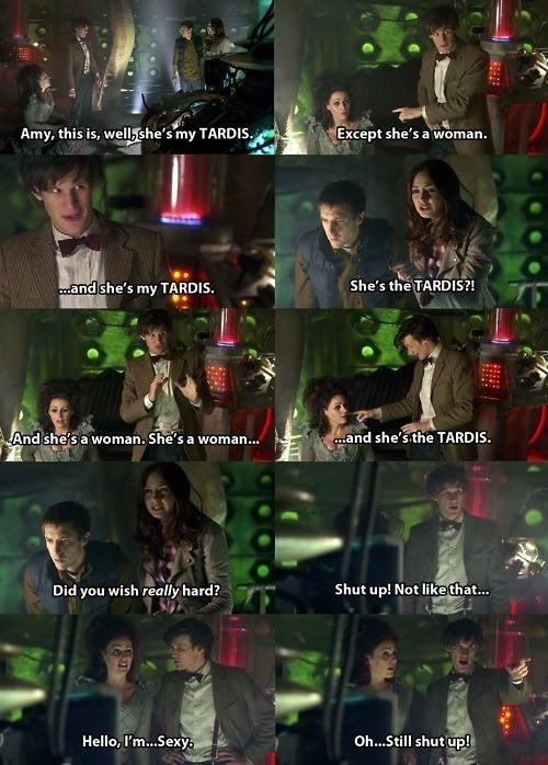 amy pond 11th Doctor tardis - 8236677376