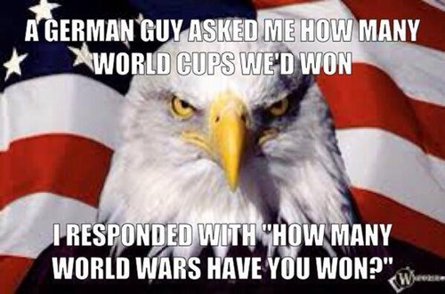 soccer world war II world cup murica eagle