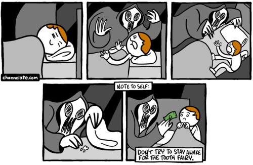 tooth fairy web comics - 8236829952