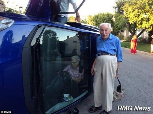 cars old people photo op g rated win