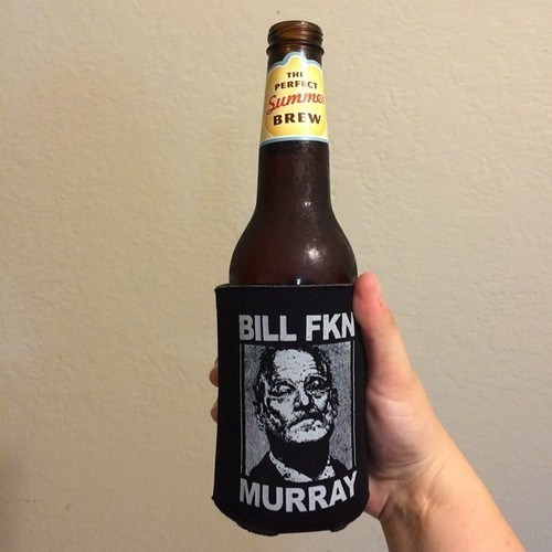 beer,bill murray,koozie,awesome,funny