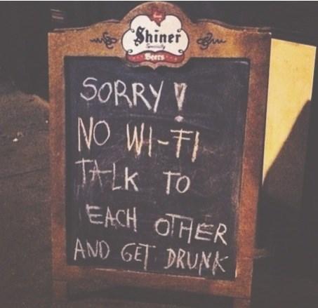 funny sign wifi pub - 8237042432