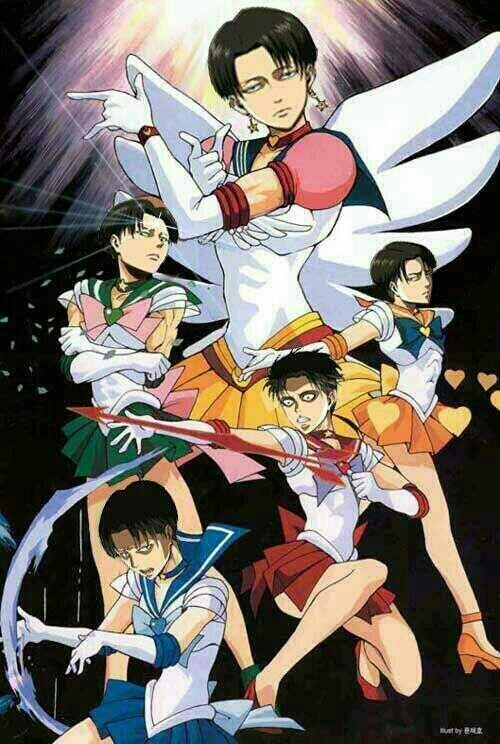 anime,sailor moon,attack on titan,theoftenrightgal