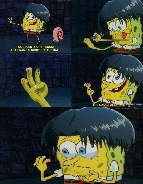 anime SpongeBob SquarePants attack on titan theoftenrightgal - 8237090816