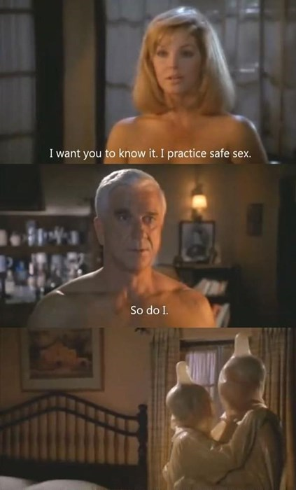 leslie nielsen sexy times funny safety Naked Gun - 8237104640