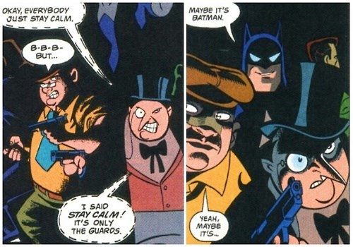 batman Straight off the Page The Penguin - 8237555712