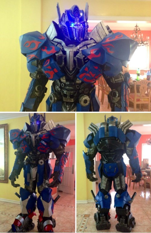 cosplay optimus prime transformers - 8237637376