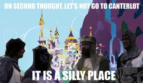 Canterlot is silly