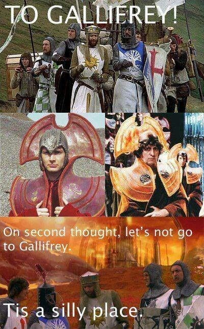 gallifrey,monty python,Time Lords