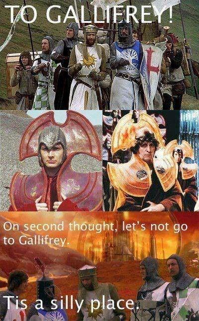 gallifrey monty python Time Lords - 8237758208