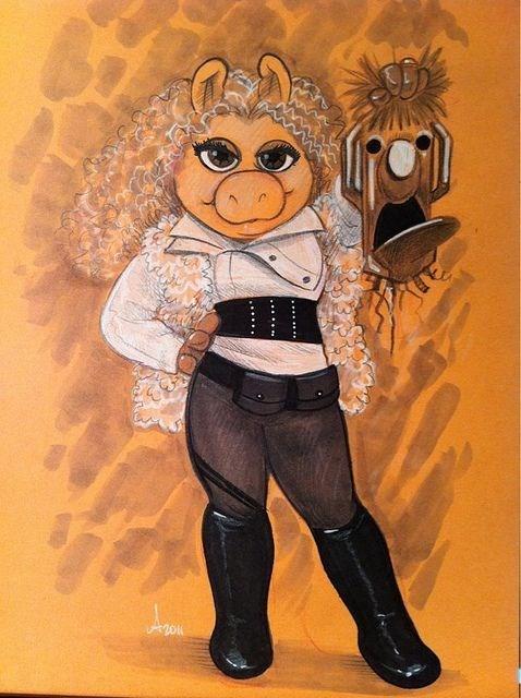 Fan Art miss piggy River Song - 8237802240