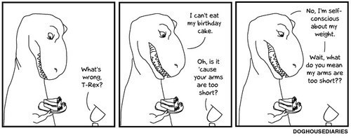 The T-Rex Had a Bunch of Problems