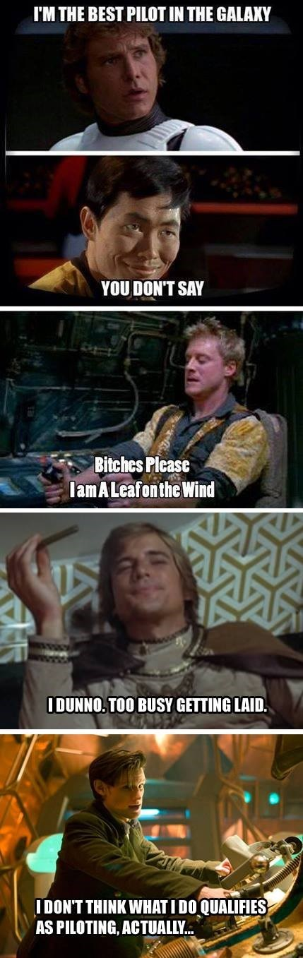 11th Doctor Han Solo scifi pilot - 8237830400